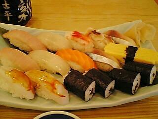 積丹で寿司