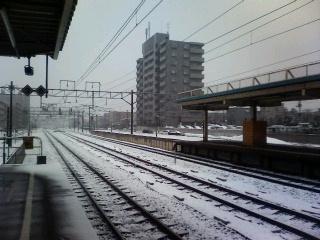 ひさびさ電車通勤