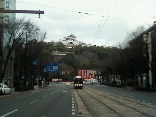 熊本城工事中