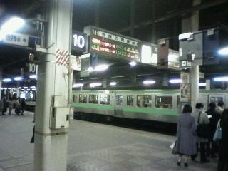 電車通勤ふたたび