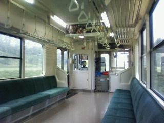 電車でガタゴト