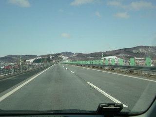 1000円高速で層雲峡温泉