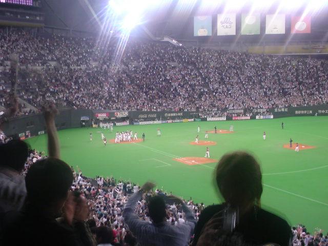サヨナラ満塁ホームラン!