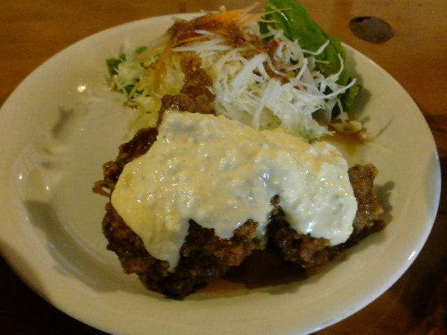 宮崎のチキン南蛮定食
