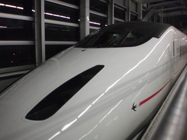 九州新幹線「つばめ」なう