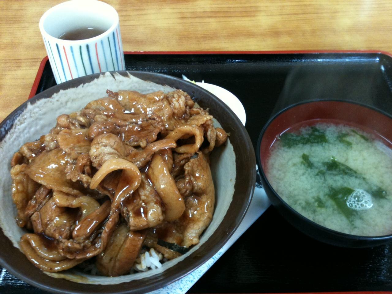 滝川・高田屋の「チャップ丼」